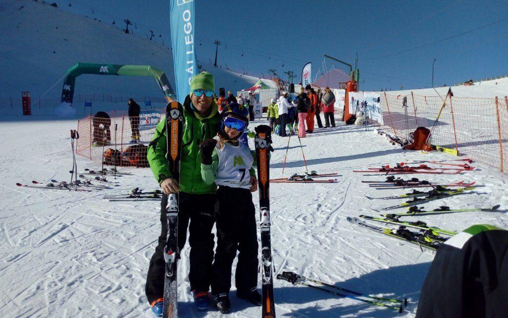 El equipo de competición viaja al Pirineo a competir en carreras oficiales de la Copa de Aragón